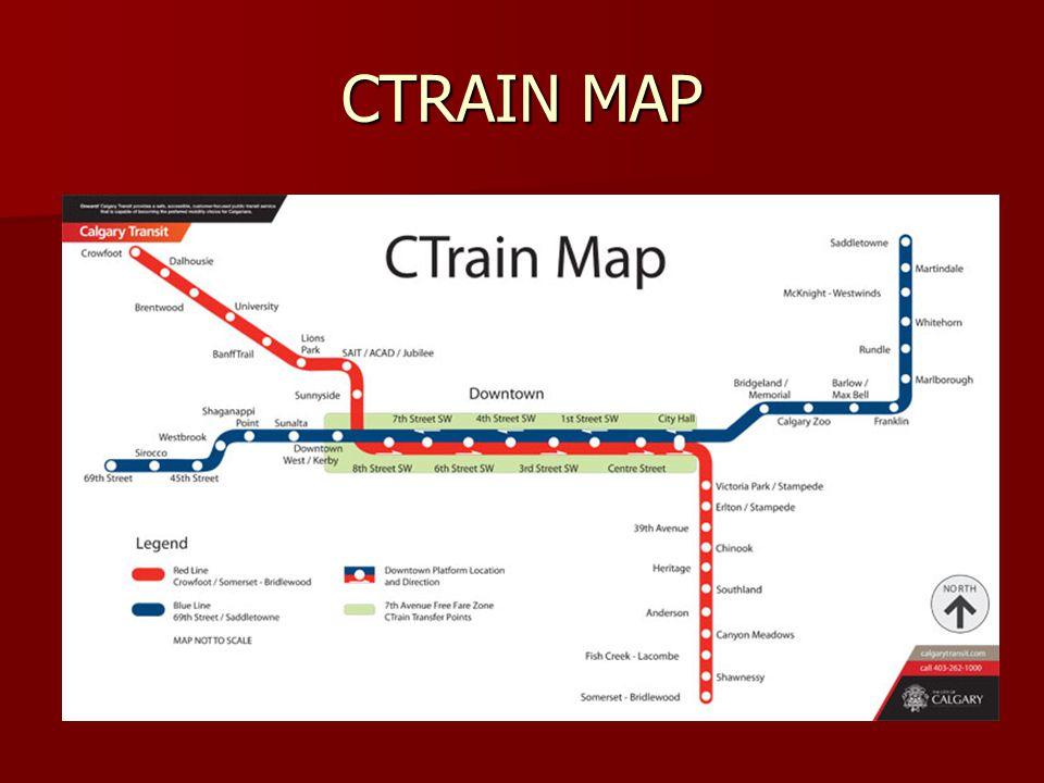 CTRAIN MAP
