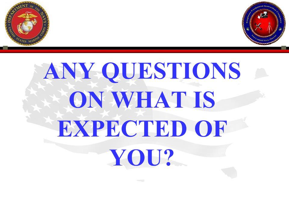 216 ENGINEER EQUIPMENT INSTRUCTION COMPANY QUESTIONS BREAK