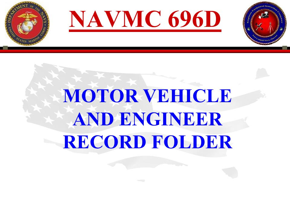 PREPARATION INSTRUCTIONS MODEL/USMC NO.Enter Model and Serial Number of equipment.