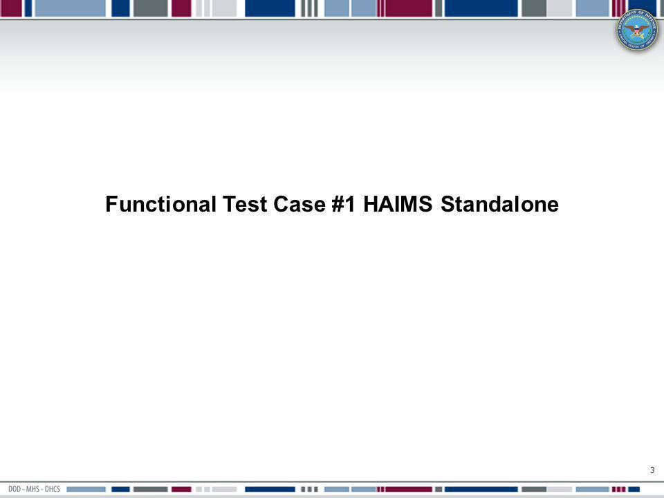 14 Select the file to upload and click on Open Validate ability to Import a test artifact in HAIMS standalone mode