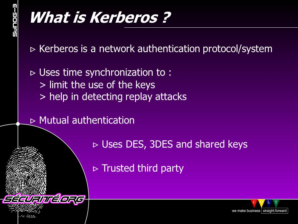 What is Kerberos .
