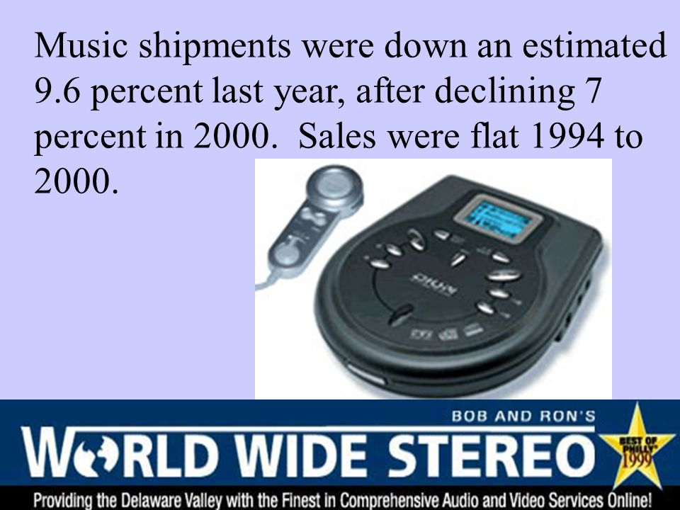 Alternative Model - Complementary Goods Dependent Demands with Shift in Record Market Records and Concerts are complementary goods Because of new technology, the complementarity is weaker Source: New York Times, Feb.