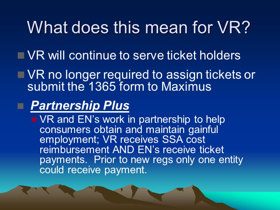 What does this mean for VR.