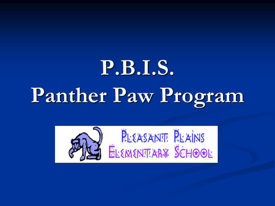 Panther Promise (Code of Conduct) I am respectful.