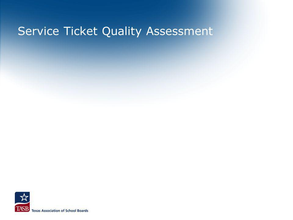 Service Ticket Quality Assessment