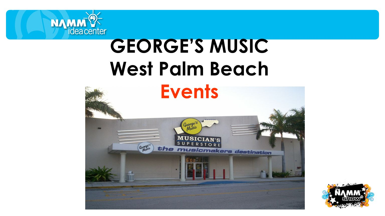 GEORGES MUSIC West Palm Beach Events