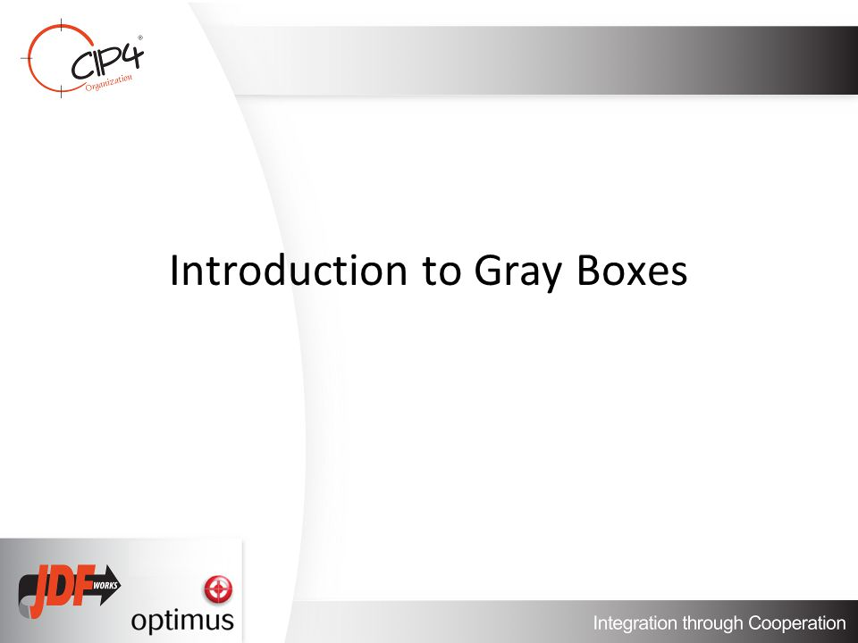 Introduction to Gray Boxes