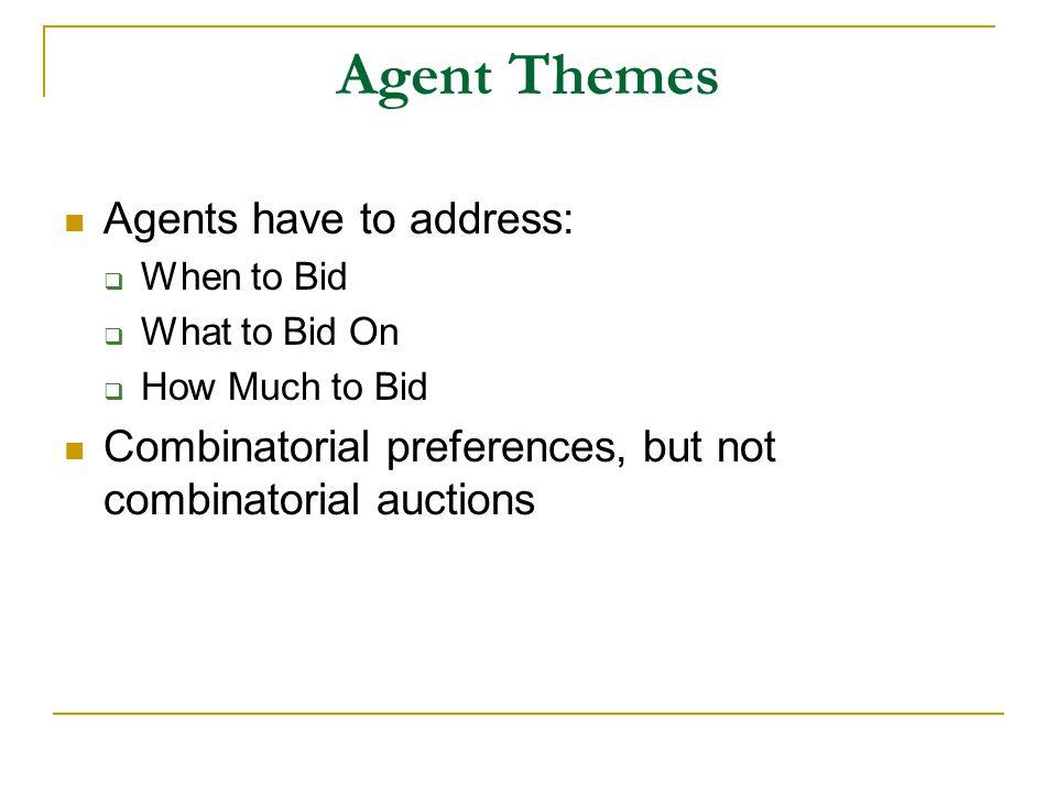 living agents vs.