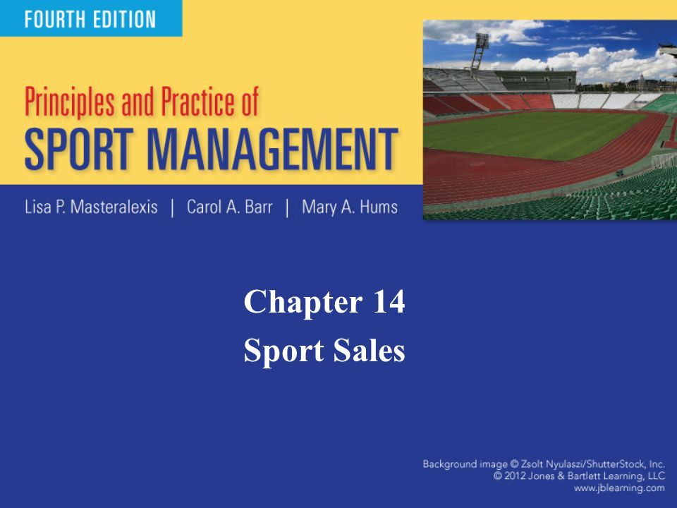 Introduction Sales function accounts for the vast majority of revenues for any sport organization.