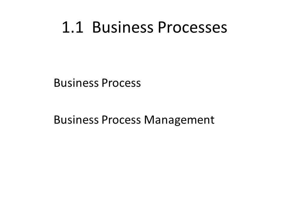 Example of Business Process (Figure 1.1) The next slide shows an example of a business process: Ordering an E-ticket from an airline Web site