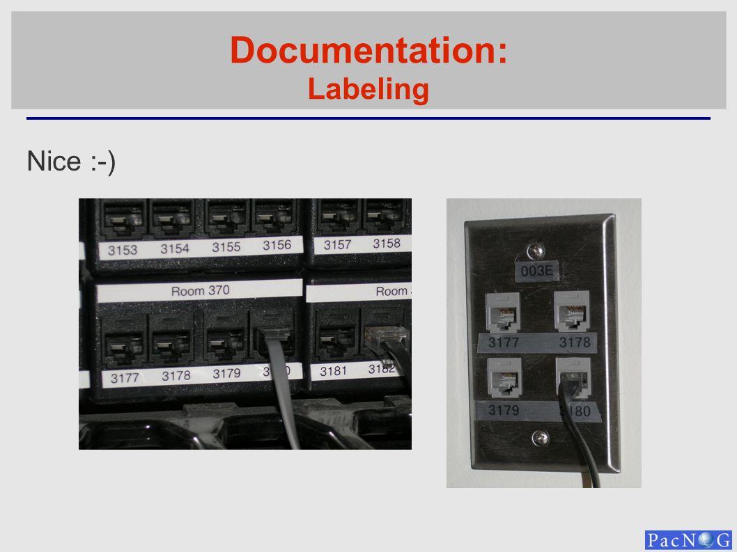 Documentation: Labeling Nice :-)