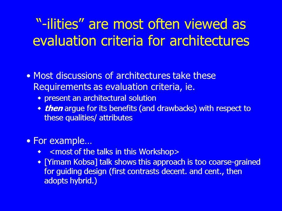 From [Yimam & Kobsa TWIST2000] presentation Analysis Background Alternatives DEMOIR First appr.