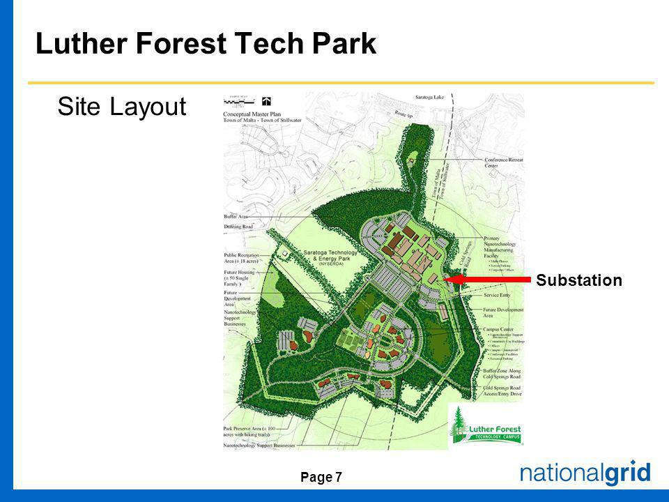 Page 7 Luther Forest Tech Park Site Layout Substation