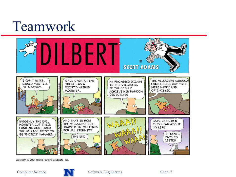 Computer ScienceSoftware Engineering Slide 6 Meetings