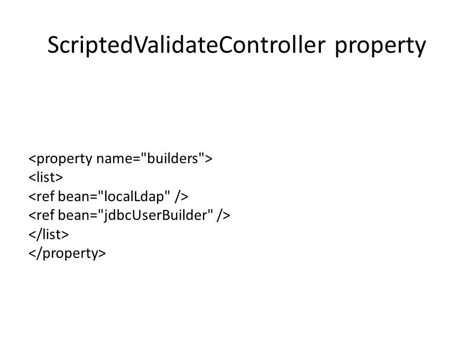 ScriptedValidateController property