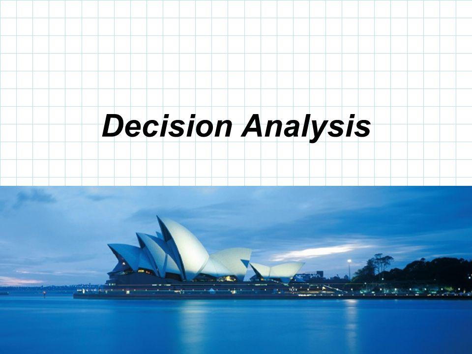© 2008 Prentice-Hall, Inc. Decision Analysis
