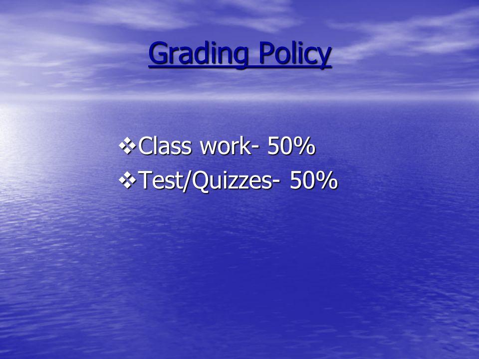 Grading Scale 90-100%A Outstanding Progress 90-100%A Outstanding Progress 80-89%B Above Average 80-89%B Above Average 70-79%C Average Progress 70-79%C