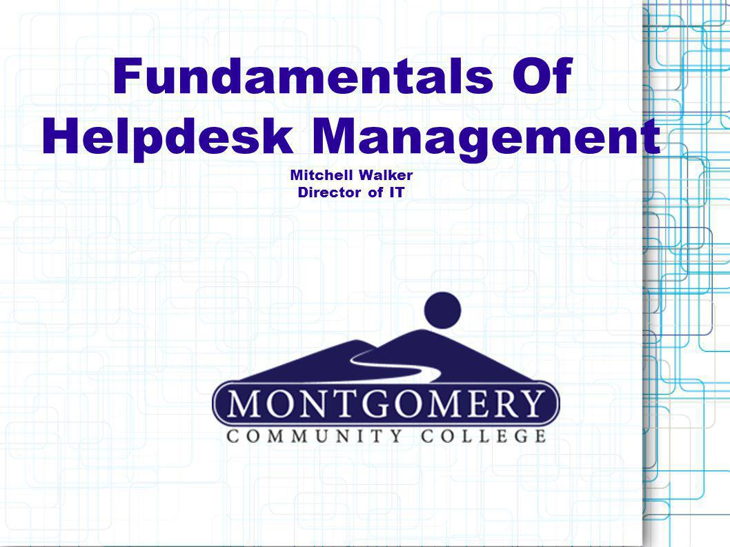 WHAT IS A HELPDESK.