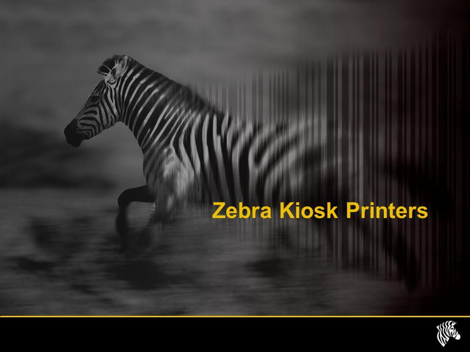 Zebra Kiosk Printers