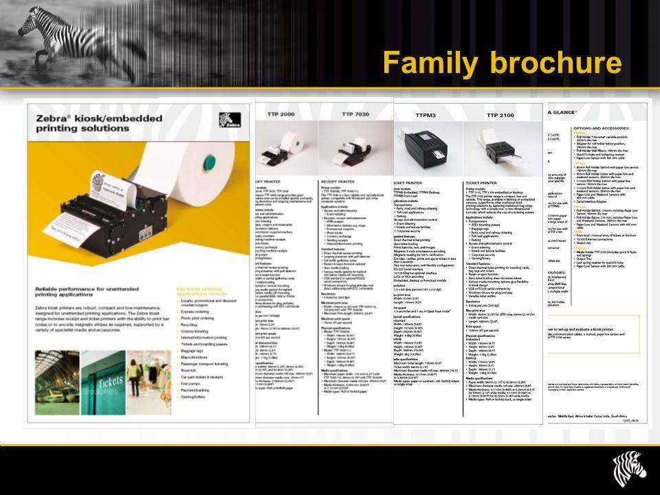 Family brochure