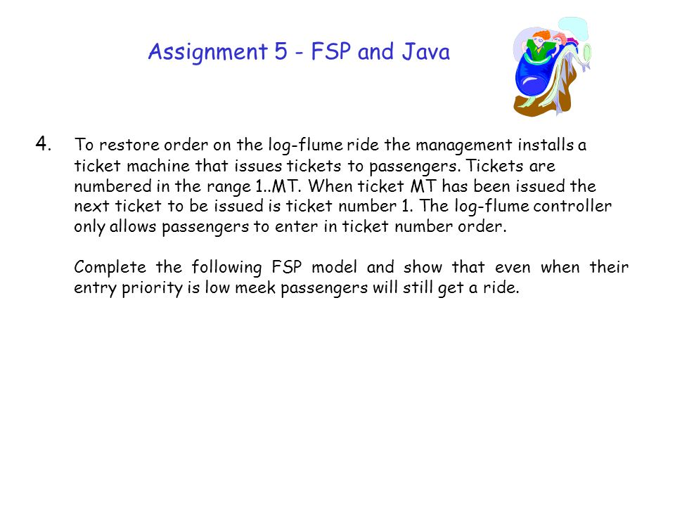 Assignment 5 - FSP and Java 4.