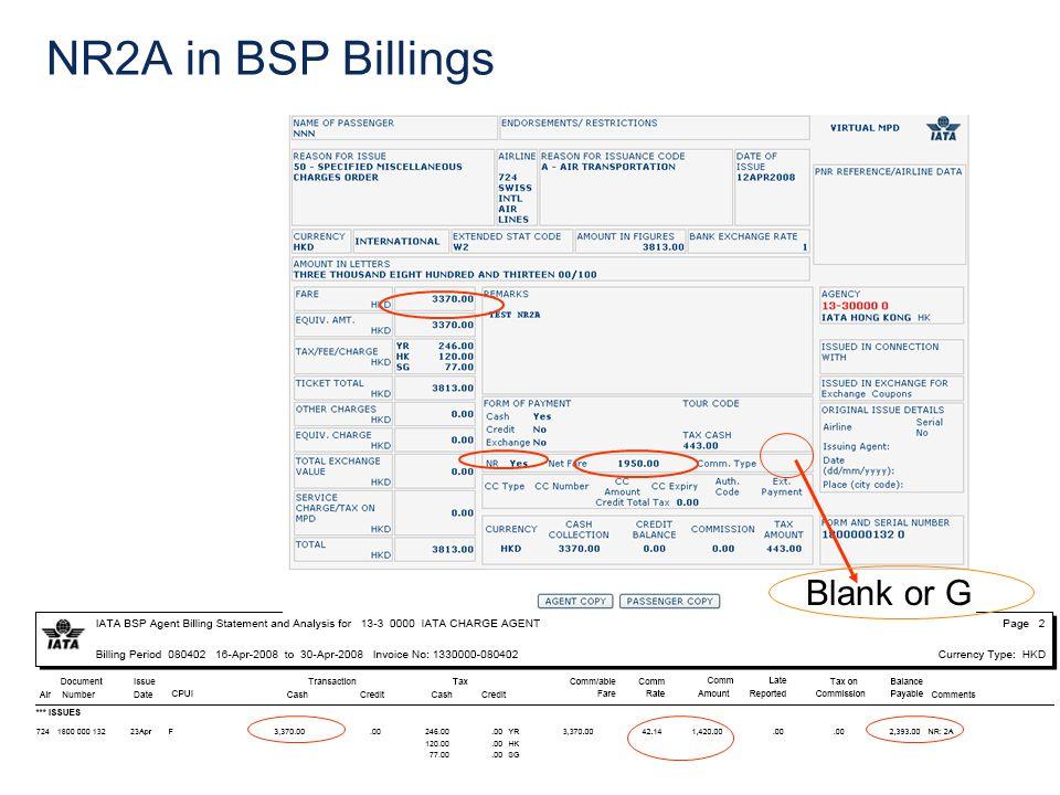 NR2A in BSP Billings Blank or G