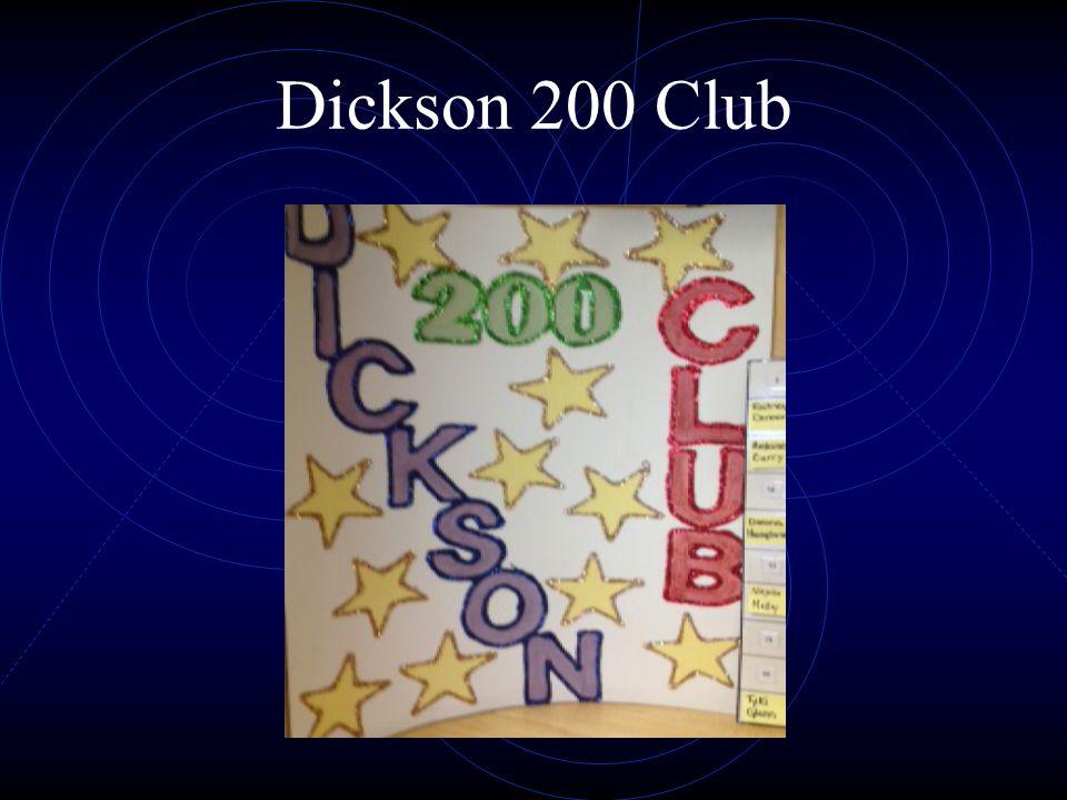 Dickson 200 Club