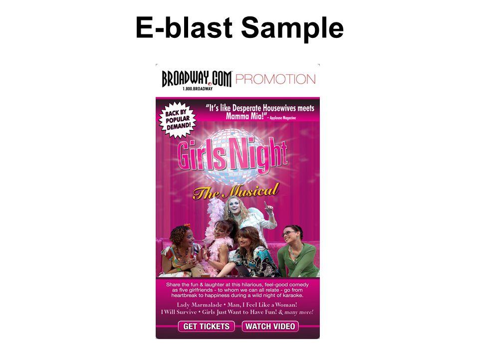 E-blast Sample
