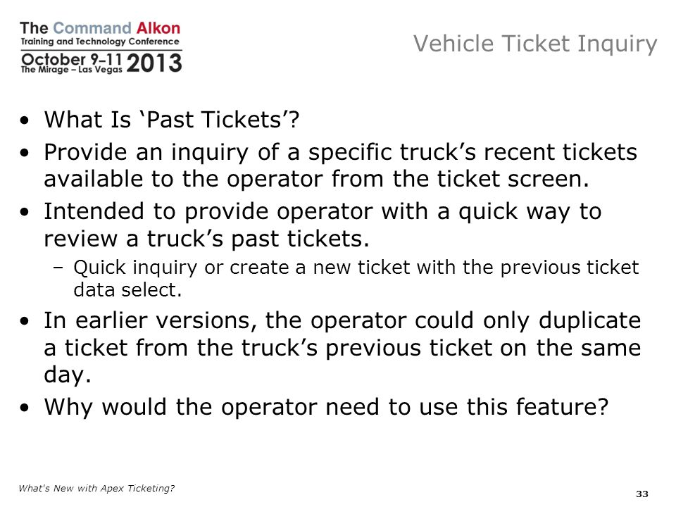Vehicle Ticket Inquiry What Is Past Tickets.