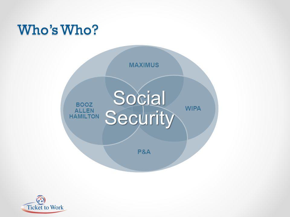 Whos Who MAXIMUS WIPA P&A BOOZ ALLEN HAMILTON Social Security