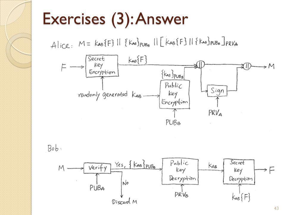 Exercises (3): Answer 43