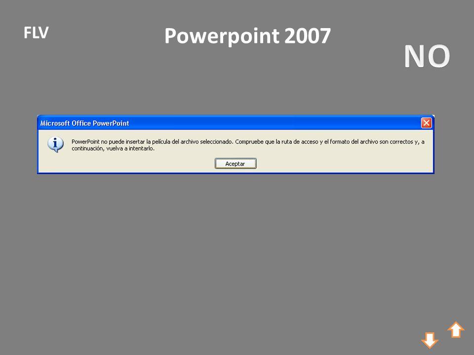 Powerpoint 2007 FLV