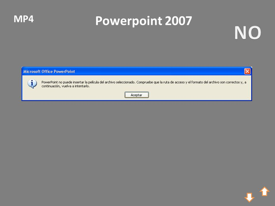 Powerpoint 2007 MP4