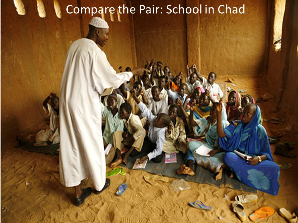 Compare the Pair: School in Chad