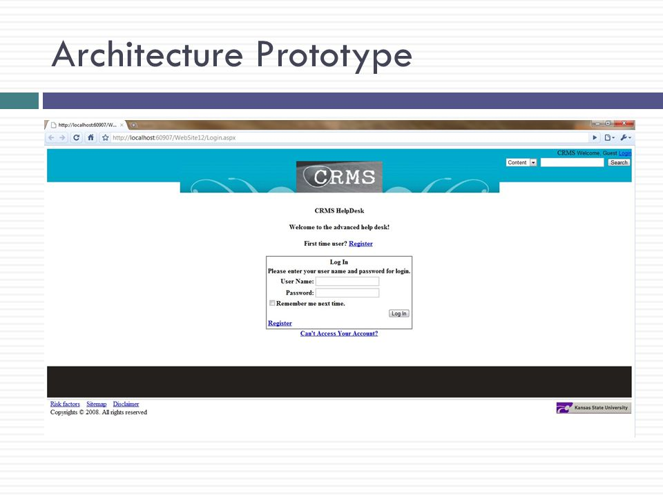 Architecture Prototype