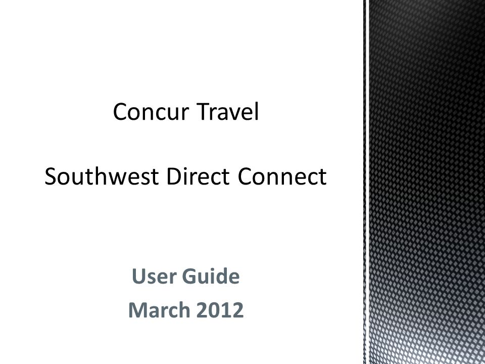User Guide March 2012