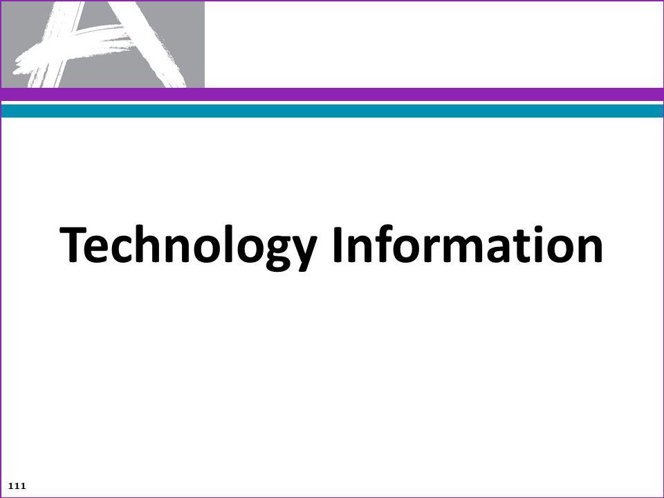 Technology Information 111