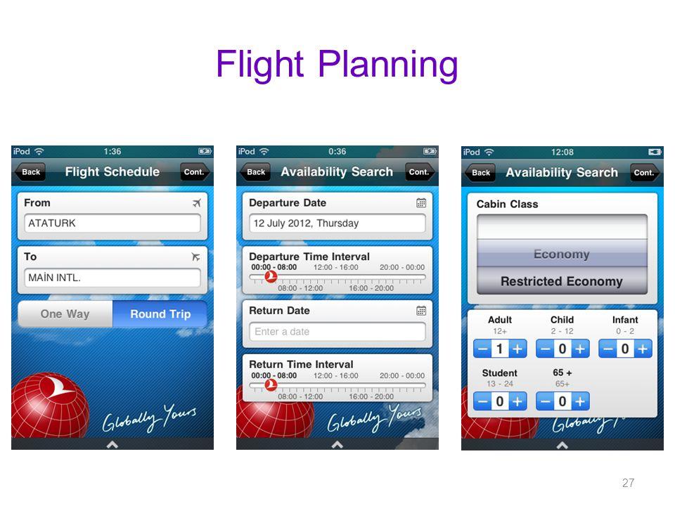 Flight Planning 27