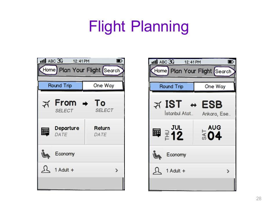 Flight Planning 28