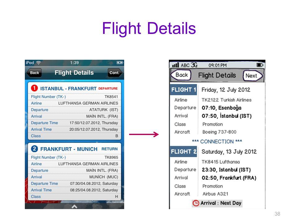 Flight Details 38