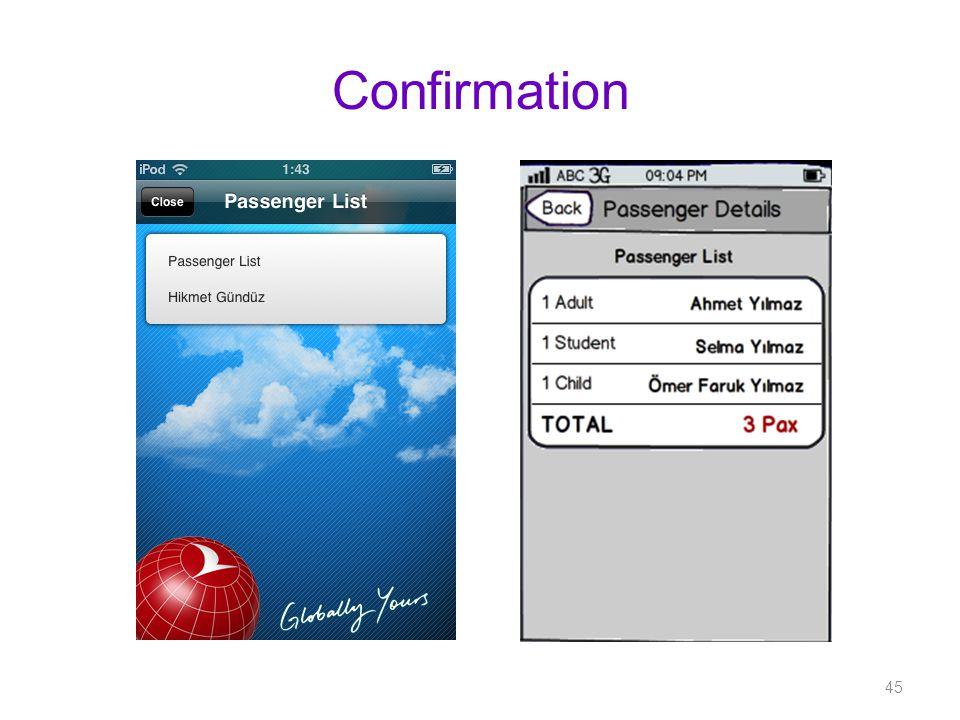 Confirmation 45
