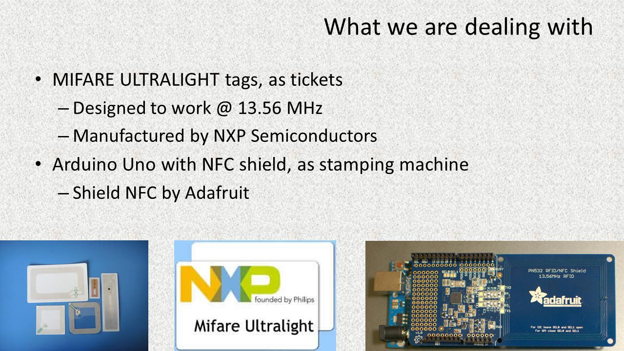 MIFARE ULTRALIGHT, Facts&Figures