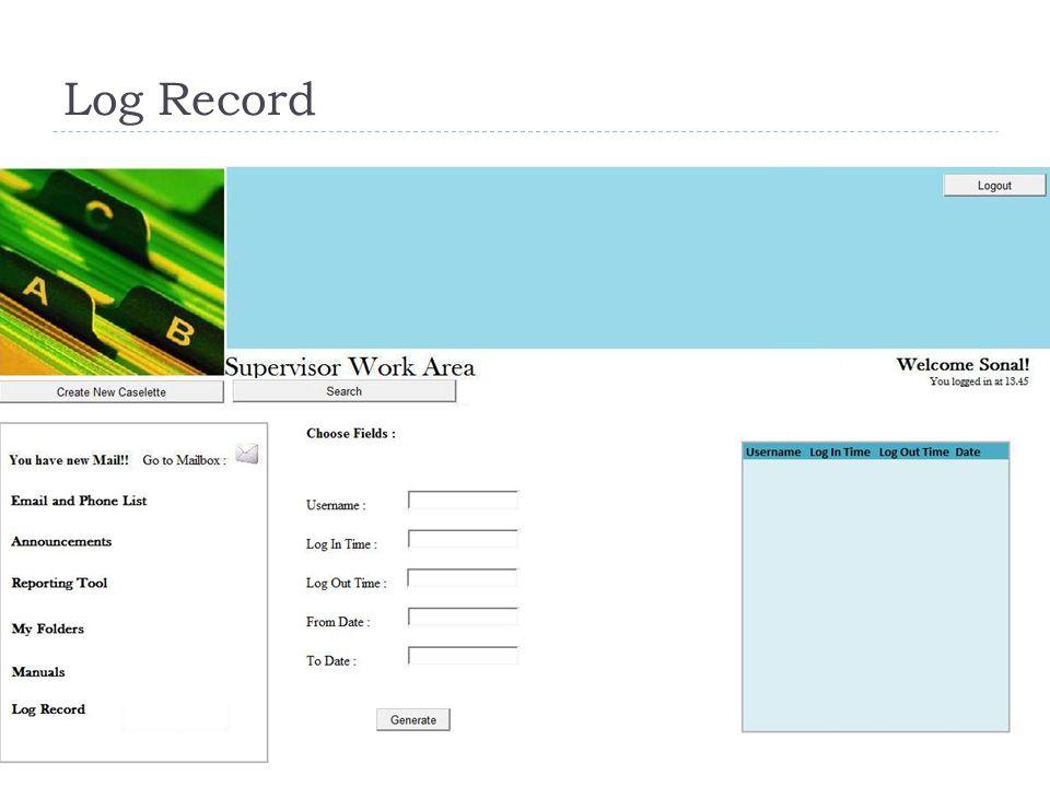Log Record