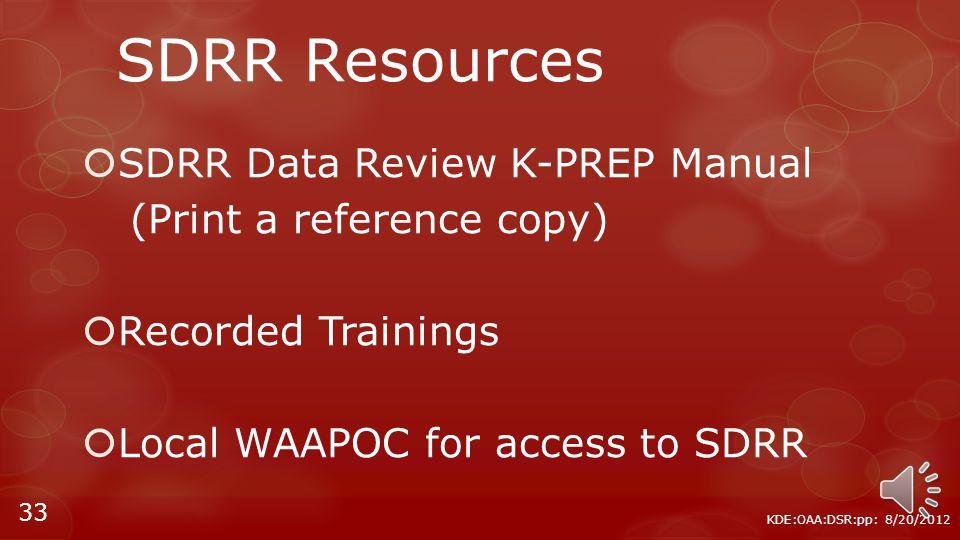 Pending Ticket Update Screen KDE:OAA:DSR:pp: 8/20/2012 32