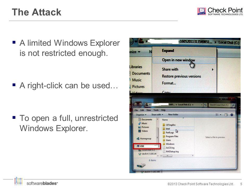 6©2013 Check Point Software Technologies Ltd.