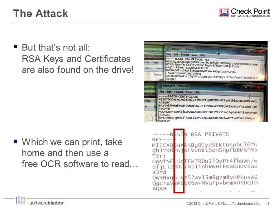 19©2013 Check Point Software Technologies Ltd.