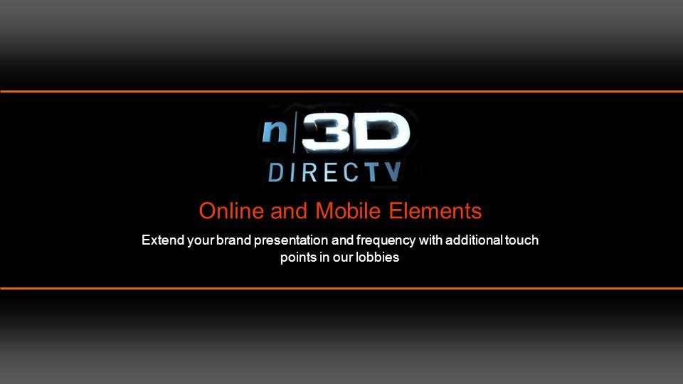 N|3D DIRECTV positioned in the NCM portfolio of websites.