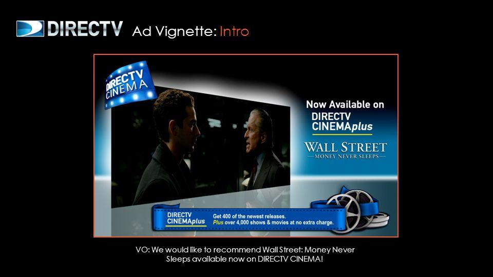 DIRECTV Ad Spot :30 Ad Vignette: DIRECTV Ad Spot
