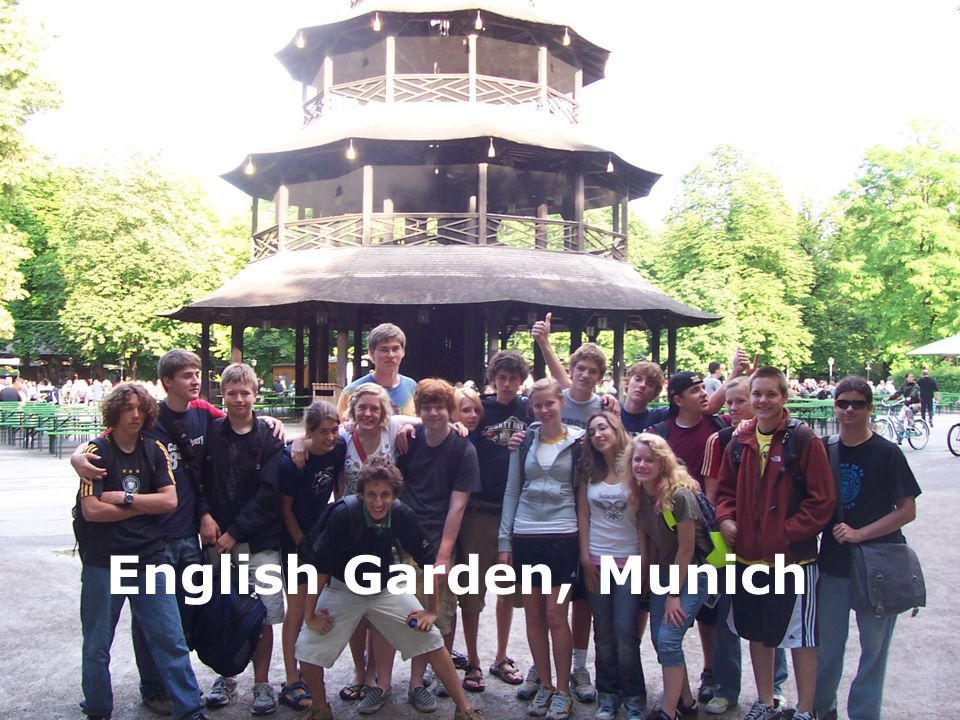 English Garden, Munich