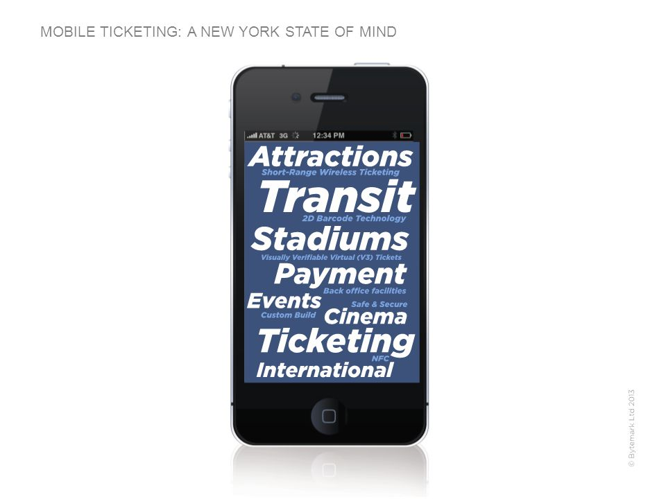 MOBILE TICKETING: A NEW YORK STATE OF MIND
